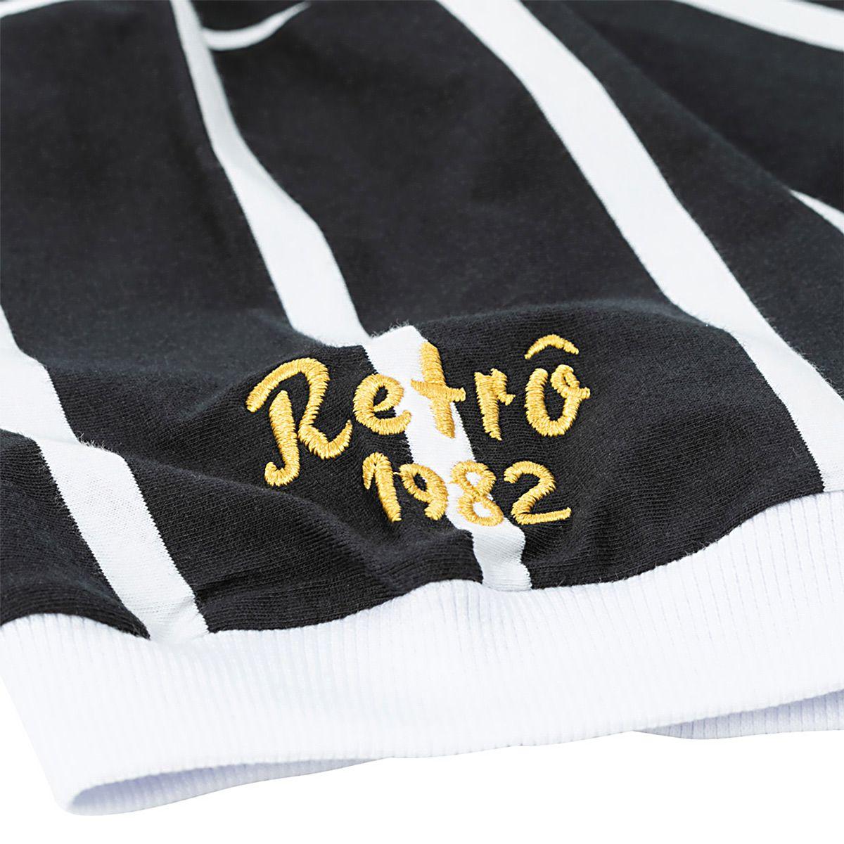Camisa Plus Size Retrô Corinthians Democracia 1982 Masculina