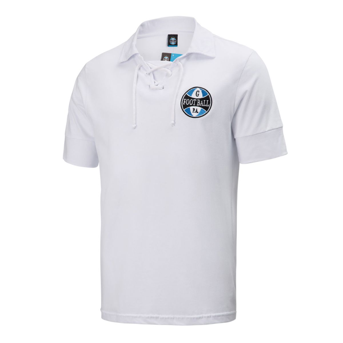 Camisa Polo Grêmio Retrô Branca Masculina