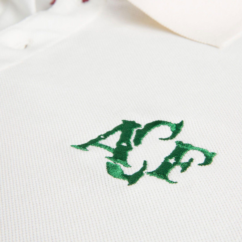 Camisa Polo Retrô Gol Chapecoense Torcedor Creme