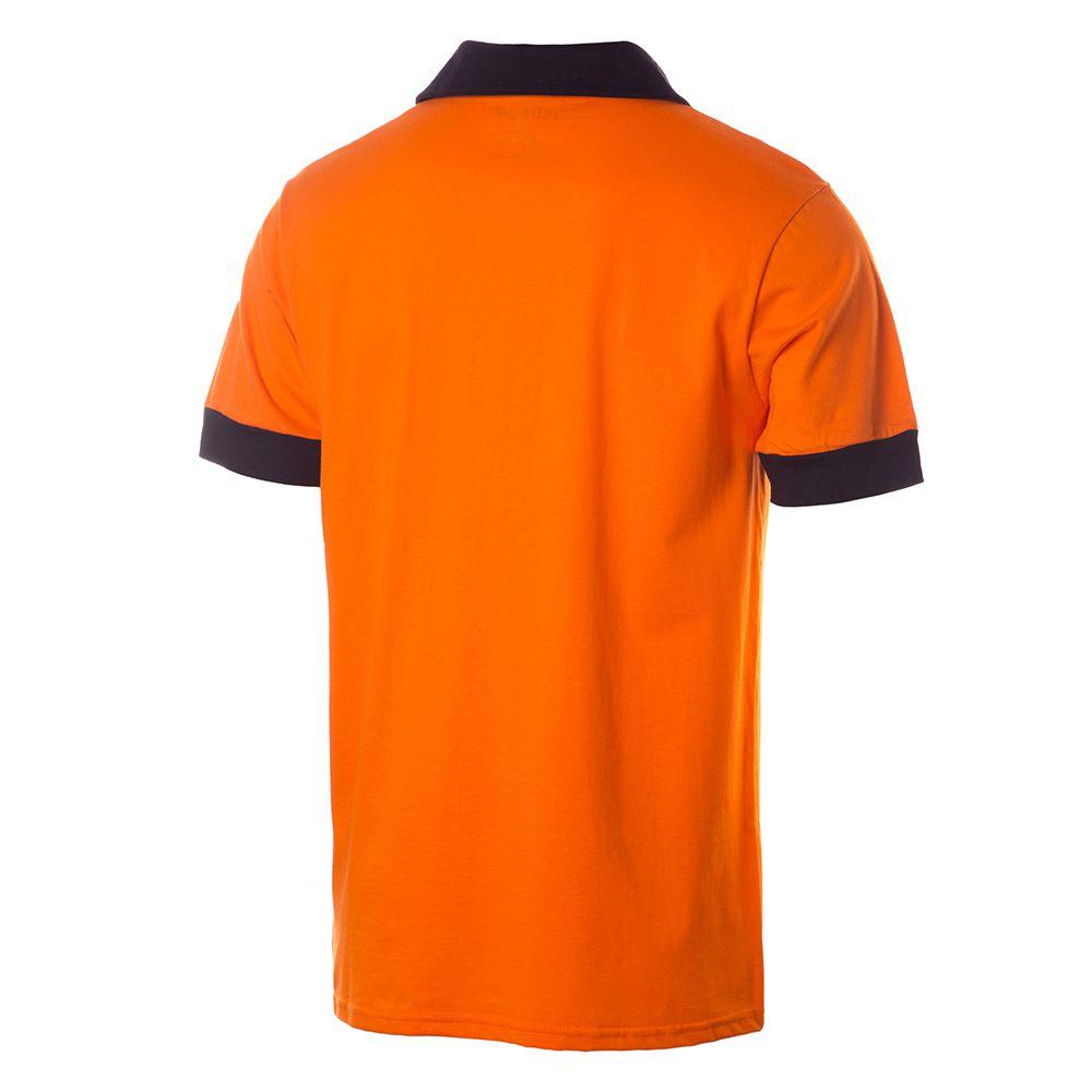 Camisa Polo Retrô Gol Réplica Seleção Holanda Torcedor