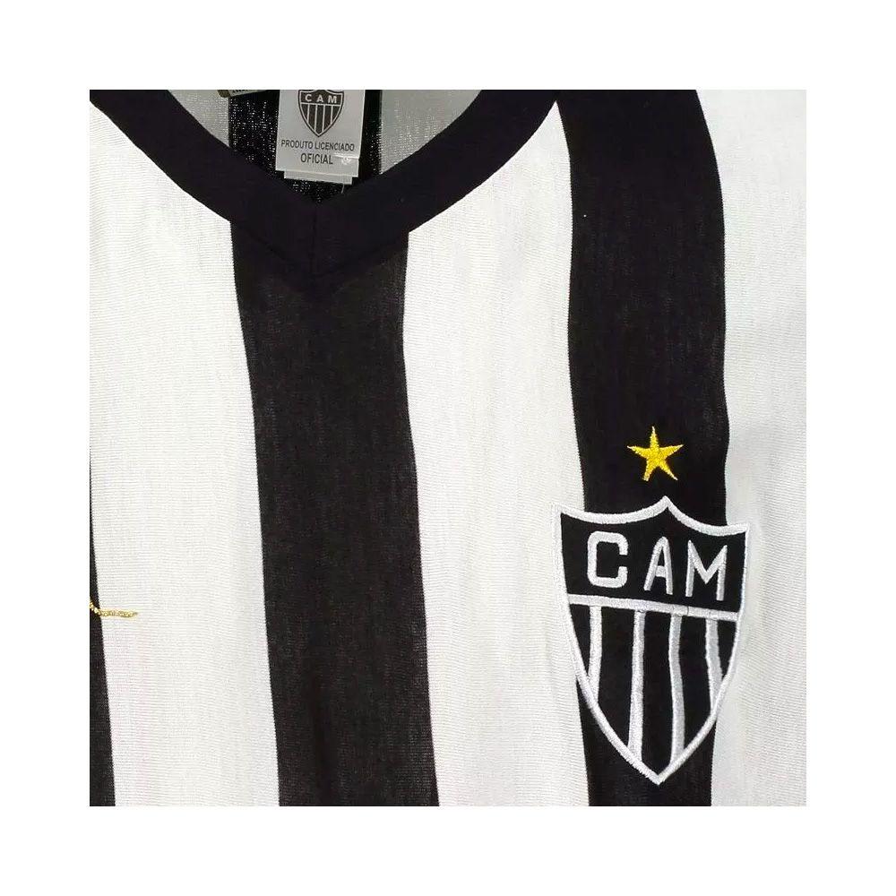 Camisa Retrô Atlético Mineiro Réplica Reinaldo