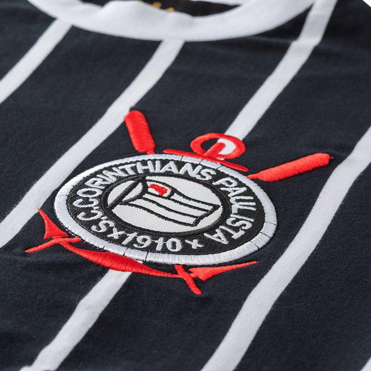 Camisa Retrô Corinthians 1977 Edição Especial Masculina