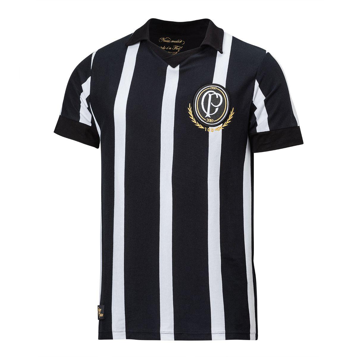 Camisa Retrô Corinthians Centenário Masculina