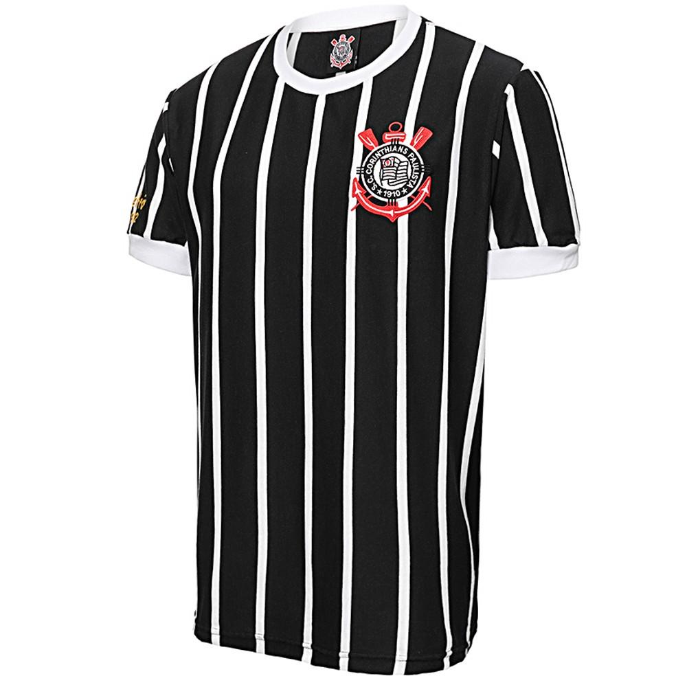 Camisa Retrô Corinthians Democracia 1982 Masculina