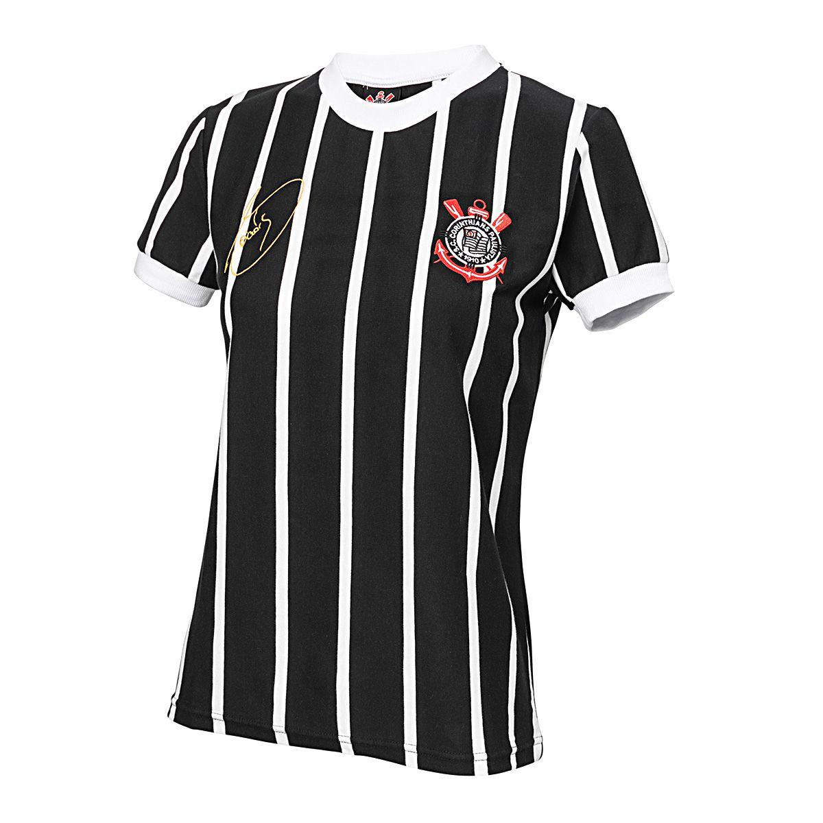 Camisa Retrô Corinthians Democracia 1982 Feminina