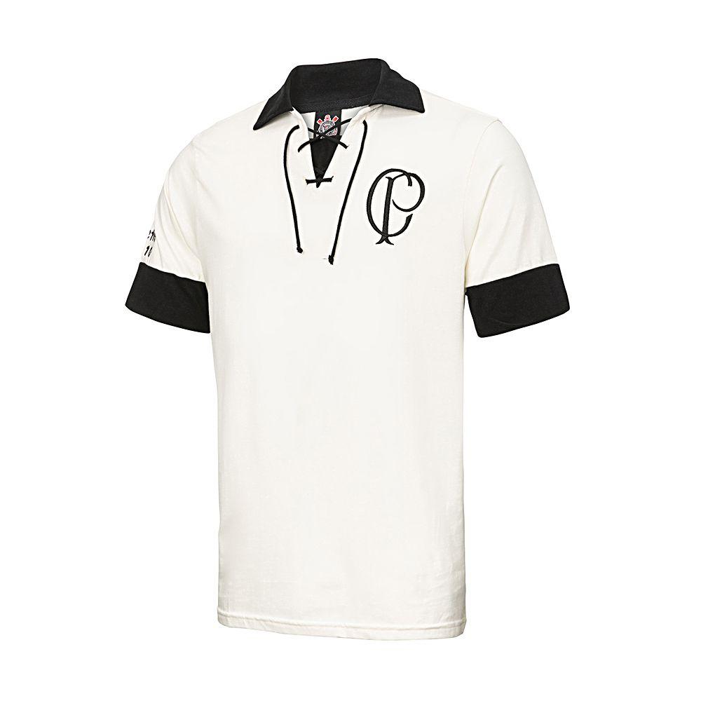 ad1032972b81d Camisa Retrô Corinthians Réplica CP 1910 Masculina - Retrôgol