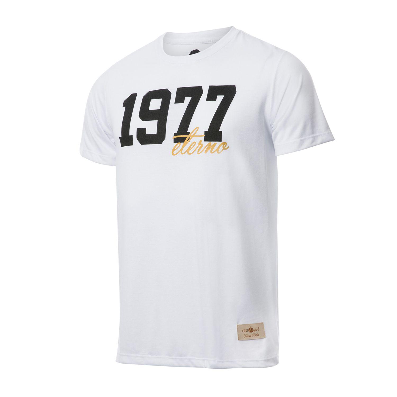 Camisa Retrô Gol Basílio 1977 Branca Torcedor