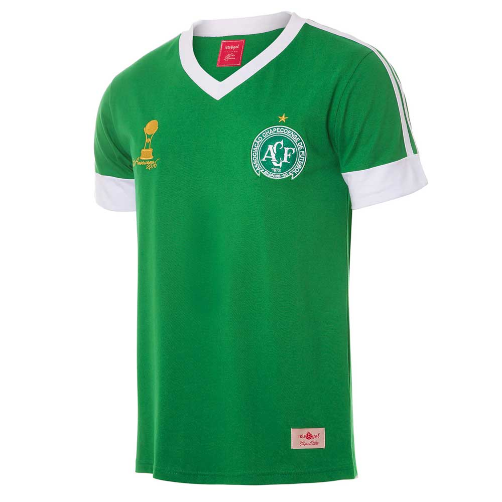Camisa Retrô Gol Chapecoense Sulamericana 2016