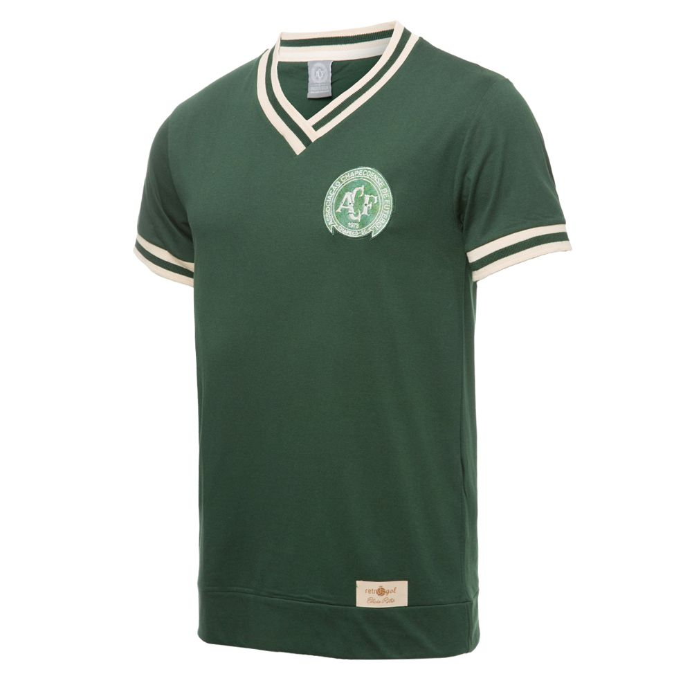 Camisa Retro Gol Chapecoense Torcedor Réplica 1977