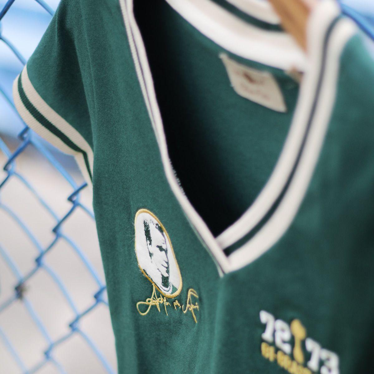 Camisa Palmeiras Retrô Gol Ademir da Guia Feminina