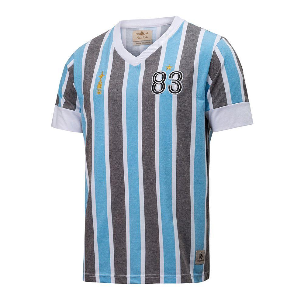 Camisa Retrô Gol Grêmio 83 Libertadores