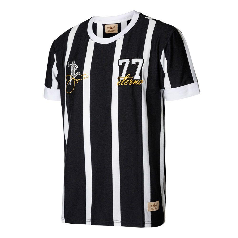 Camisa Retrô Gol Réplica Basílio Ex - Corinthians Gol 1977