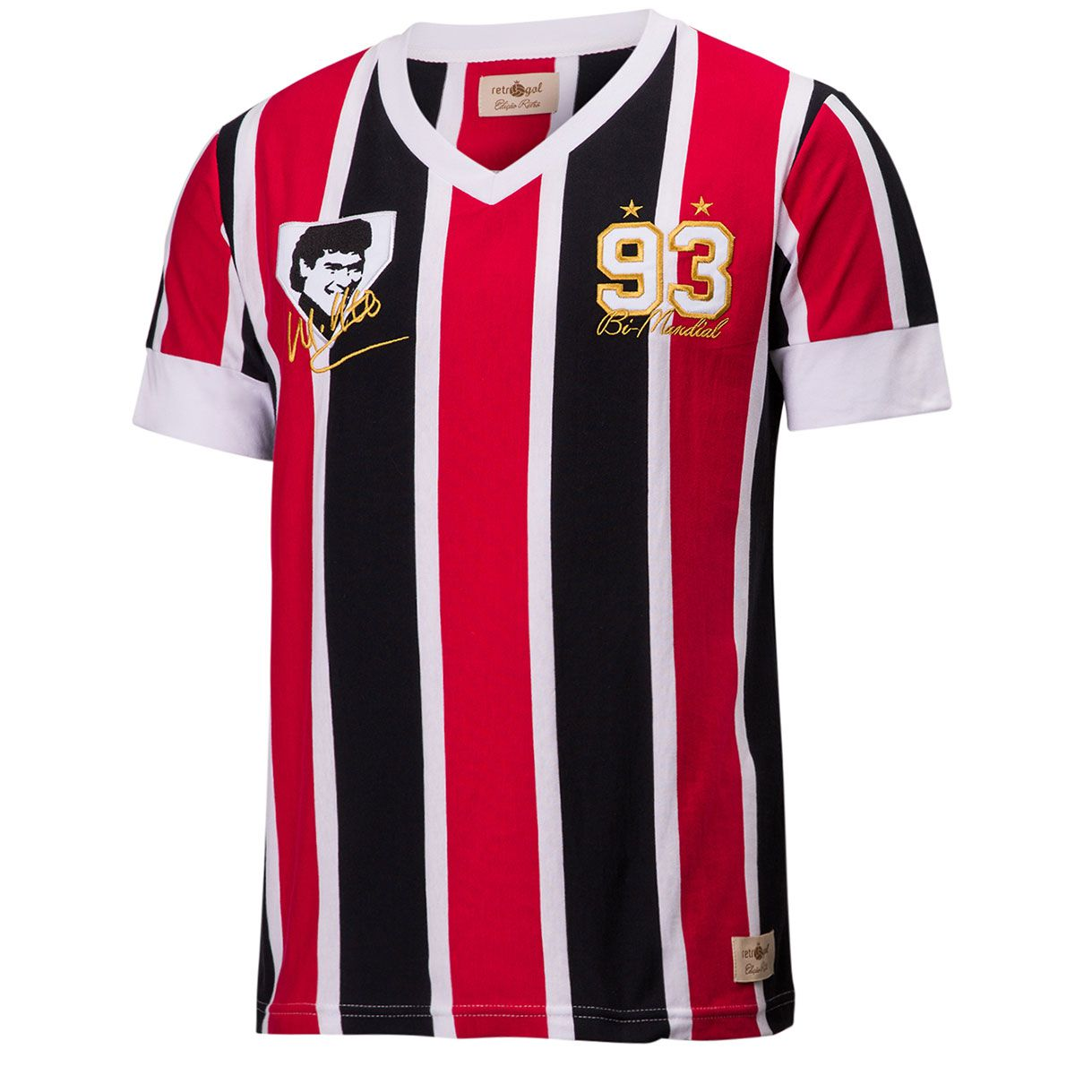 Camisa Retrô Gol Muller Ex - São Paulo 1993 Listrada