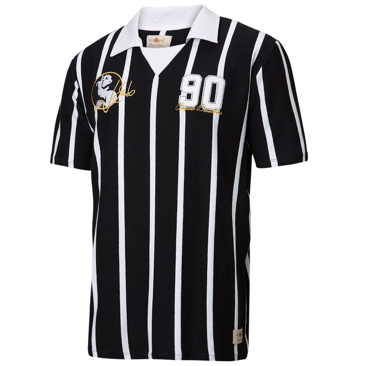 Camisa Retrô Gol Réplica Neto Ex - Corinthians 1990 Torcedor