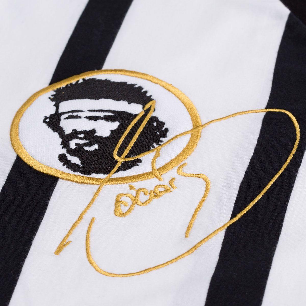 Camisa Retrô Gol Réplica Sócrates Ex - Corinthians 1983 Away