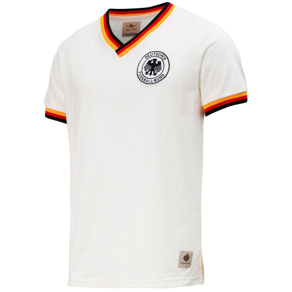 32c1227f0623e Camisa Retrô Gol Seleção Alemanha Edição Limitada - Retrôgol