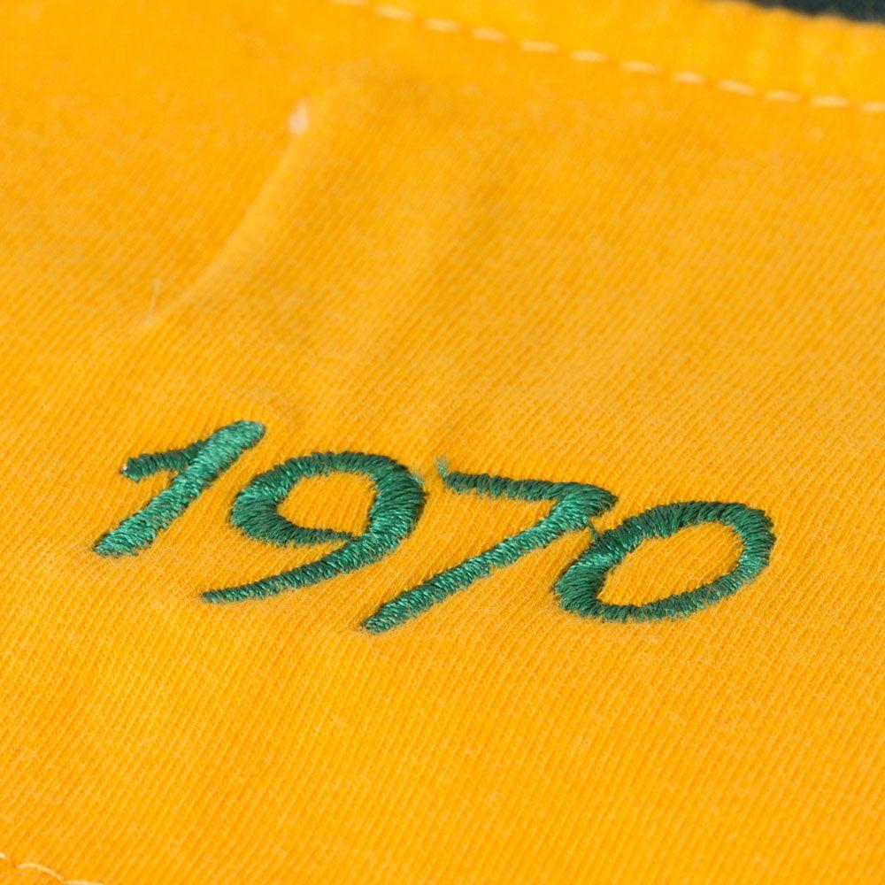 Camisa Retrô Gol Seleção Brasil 1970 Torcedor