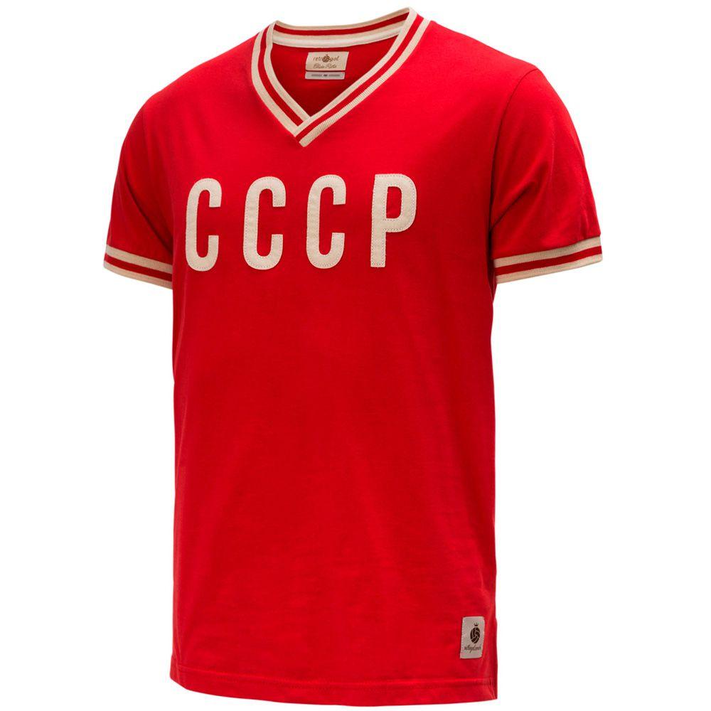 Camisa Retrô Gol Seleção CCCP Edição Limitada