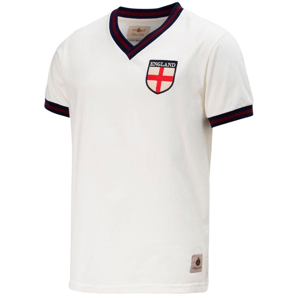 Camisa Retrô Gol Seleção Inglaterra Edição Limitada - Retrôgol  b308713856d45