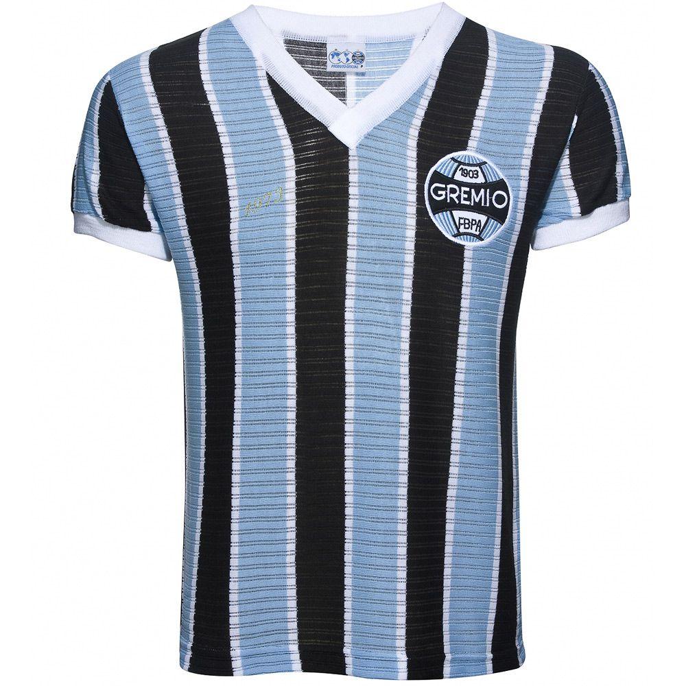 fbf5ff8853d6f Camisa Retrô Grêmio 1973 Masculina - Retrôgol