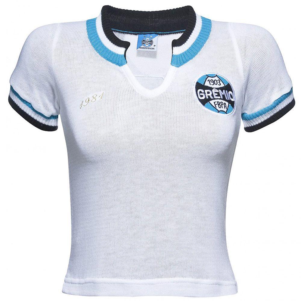 43280bb821f99 Camisa Retrô Grêmio 1981 Feminina - Retrôgol