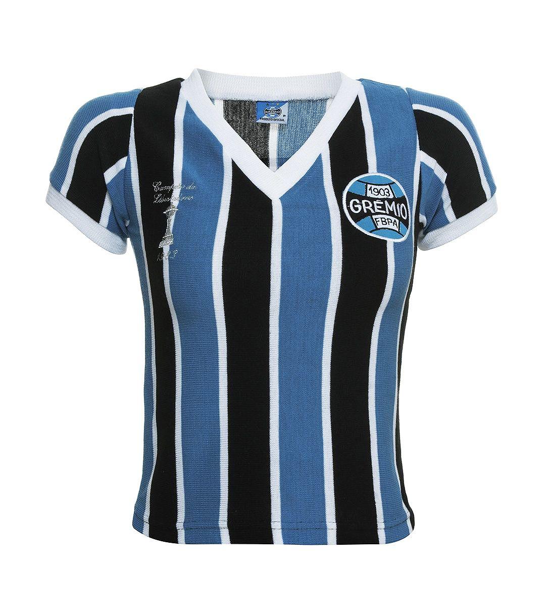 Camisa Retrô Grêmio 1983 Infantil Feminina