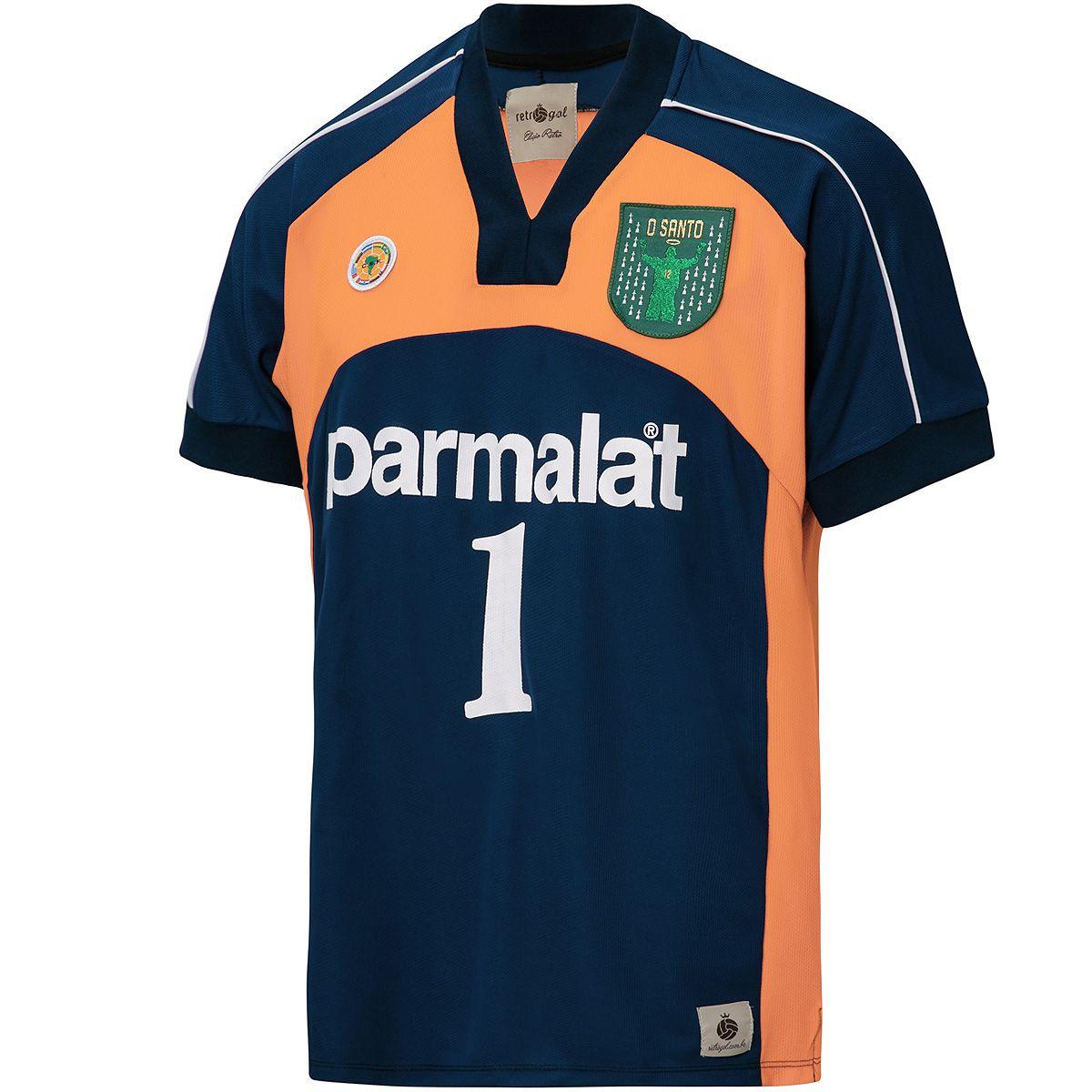 "Camisa Retrô Palmeiras Libertadores 2000 ""O Santo"""