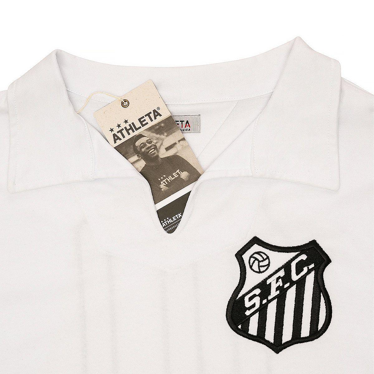 Camisa Retrô Santos 1962 Manga Longa