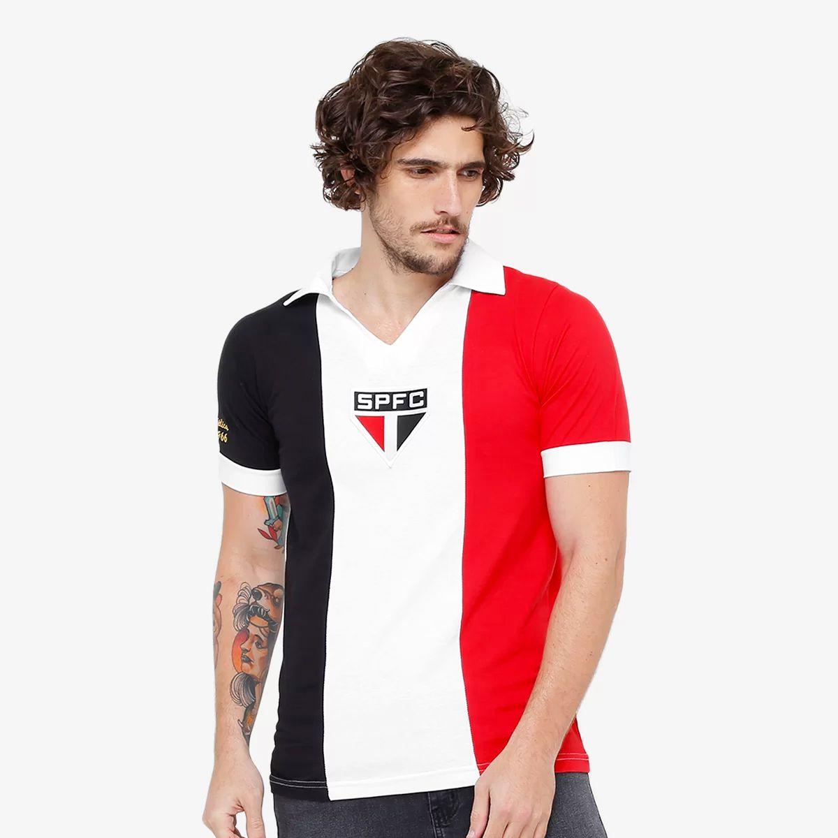 Camisa Retrô São Paulo 1966