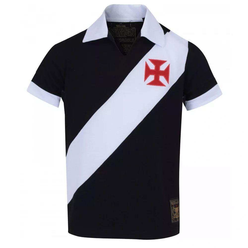 Camisa Retrô Vasco da Gama Réplica Torneio Paris 1957
