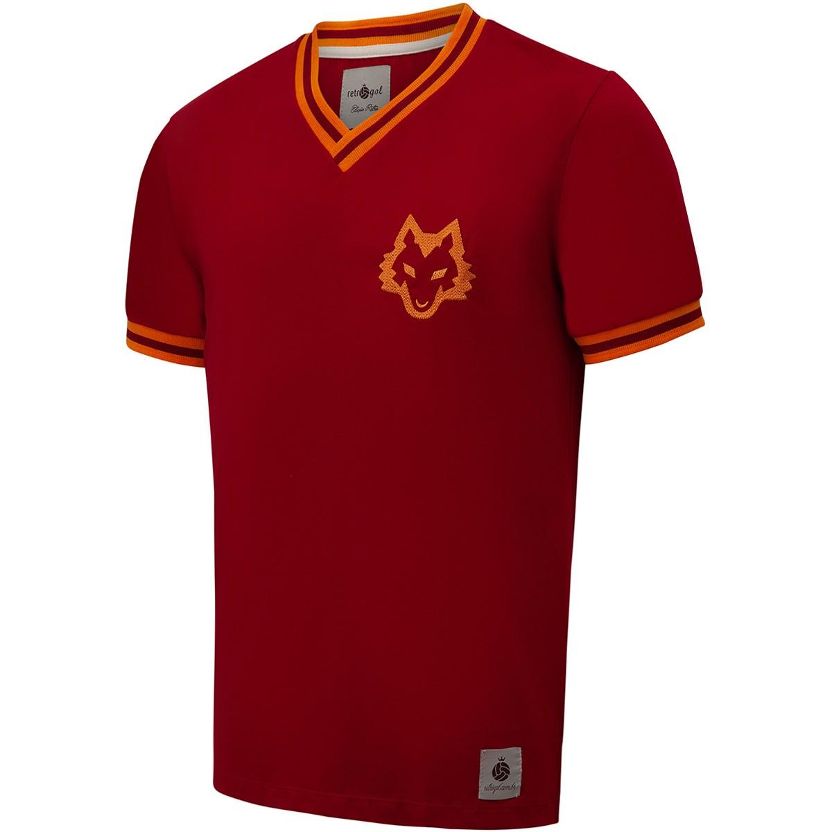 Camisa Roma Retrô 1978 nº 10 Masculina