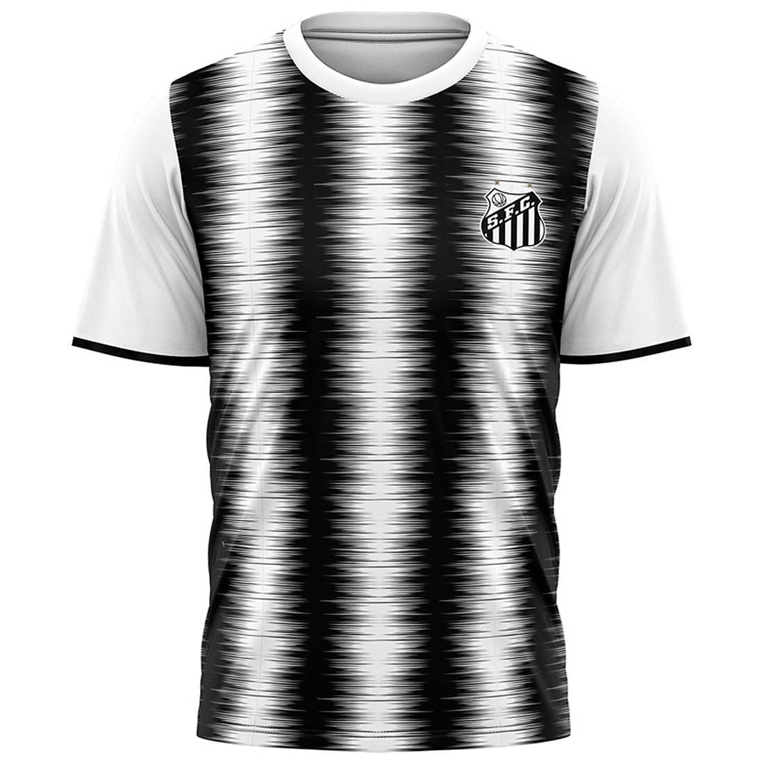Camisa Santos Faixas Torcedor