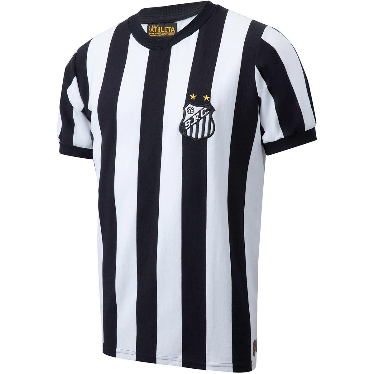 Camisa Santos Despedida do Rei Pelé Masculina