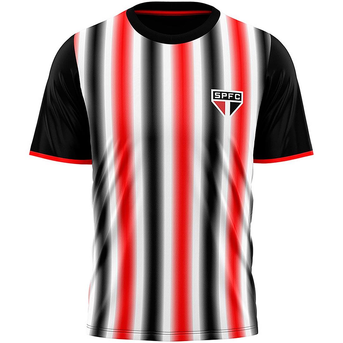 Camisa São Paulo Faixas Tricolores