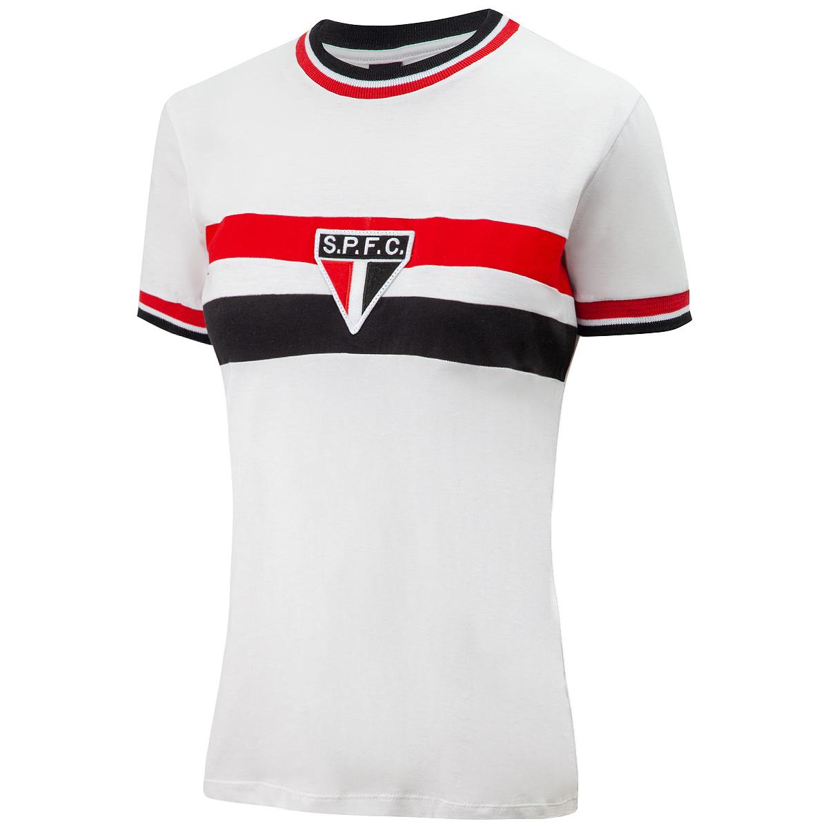 Camisa São Paulo Retrô 1969 Feminina