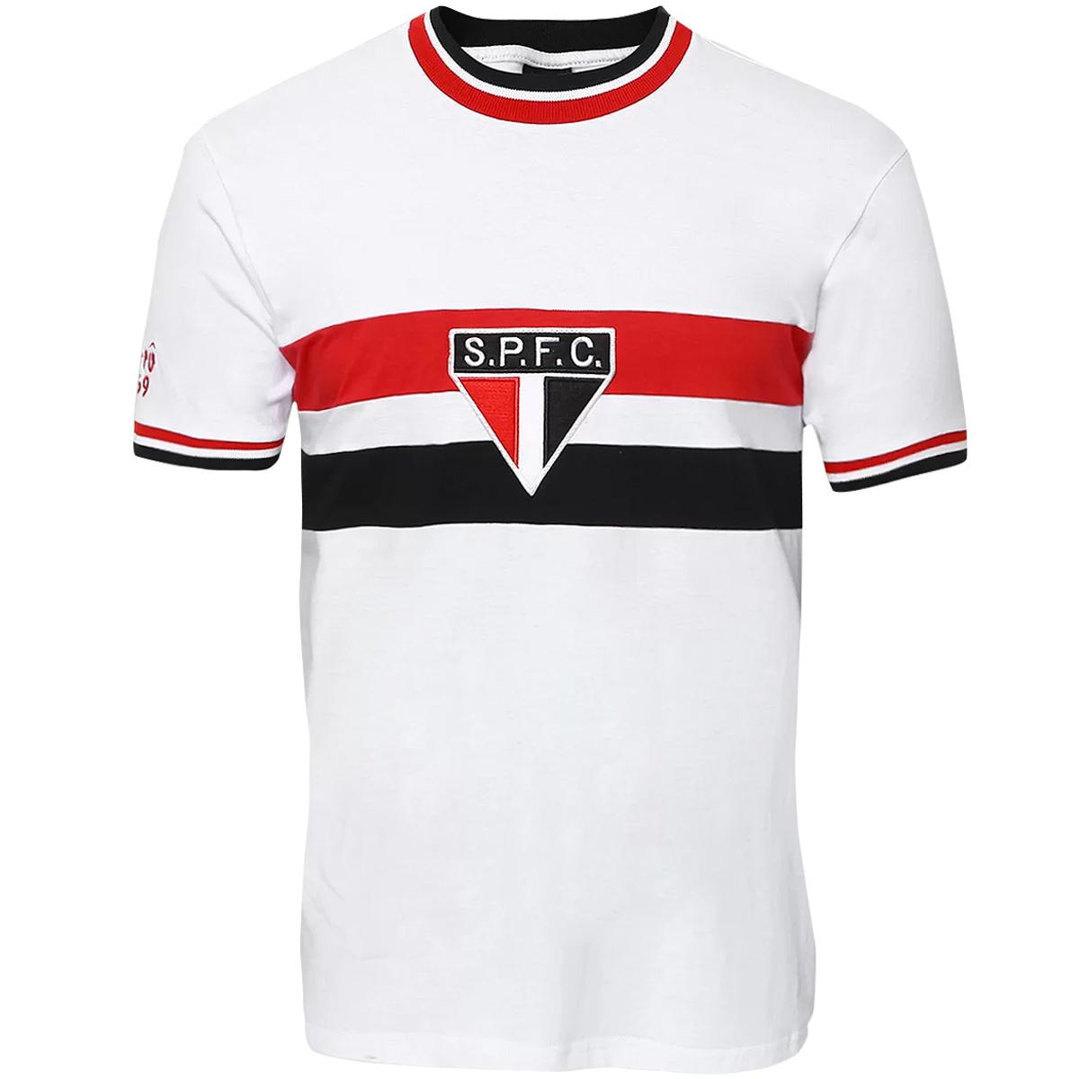Camisa São Paulo Retrô 1969 Masculina