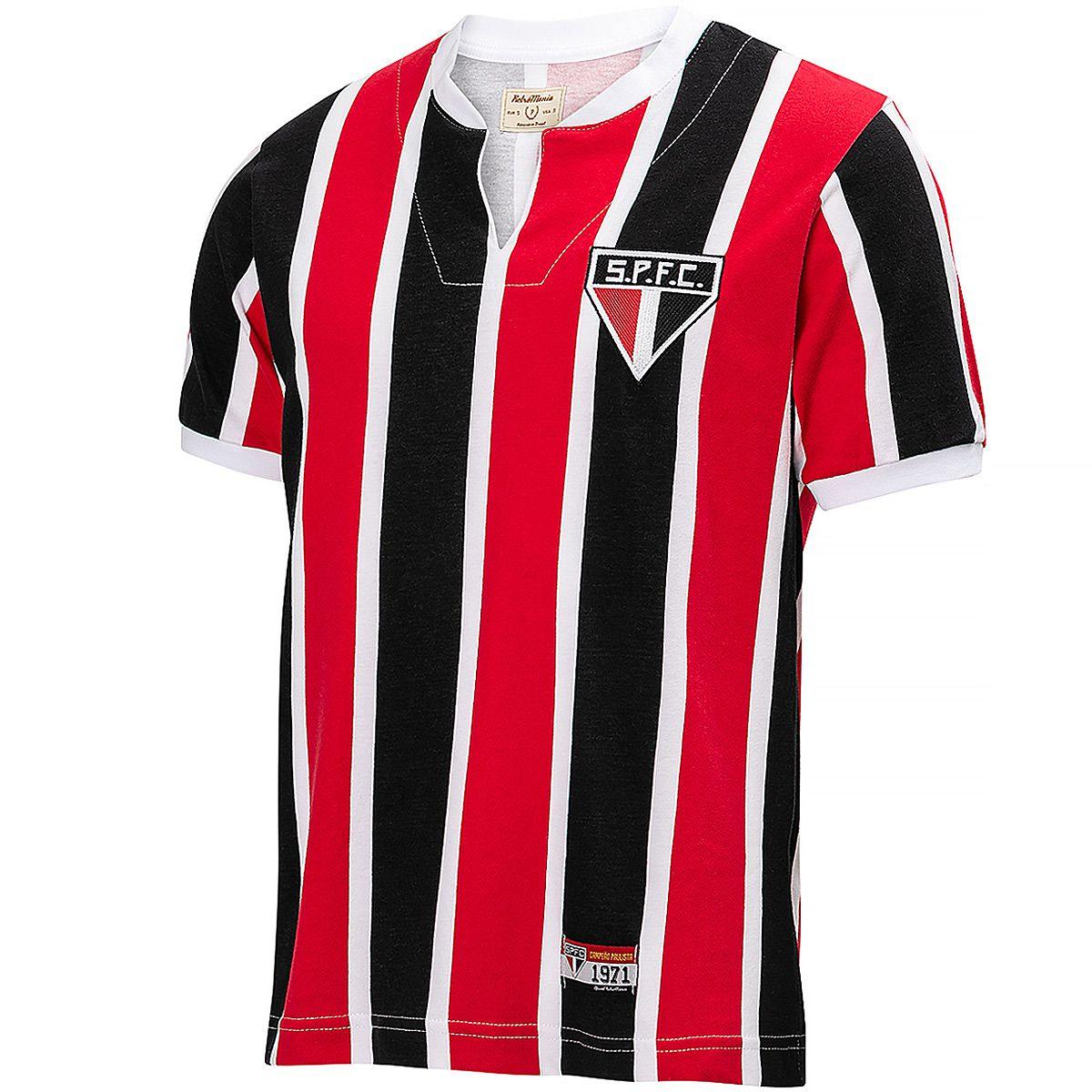 Camisa São Paulo Retrô 1970/71 Masculina