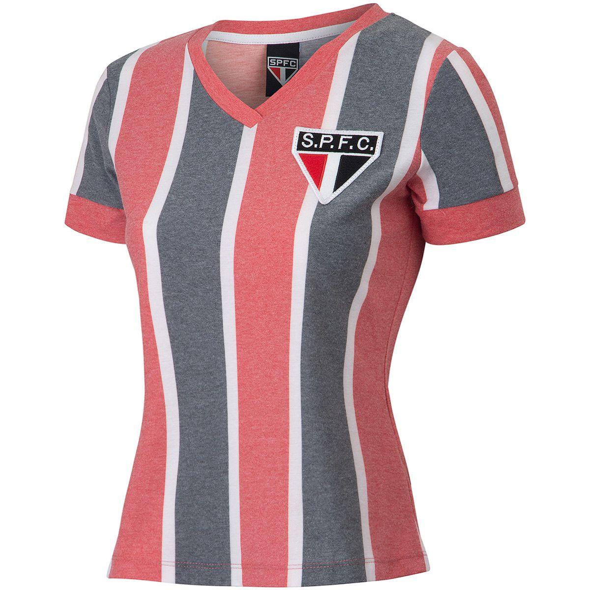 Camisa São Paulo Retrô 1977 Feminina