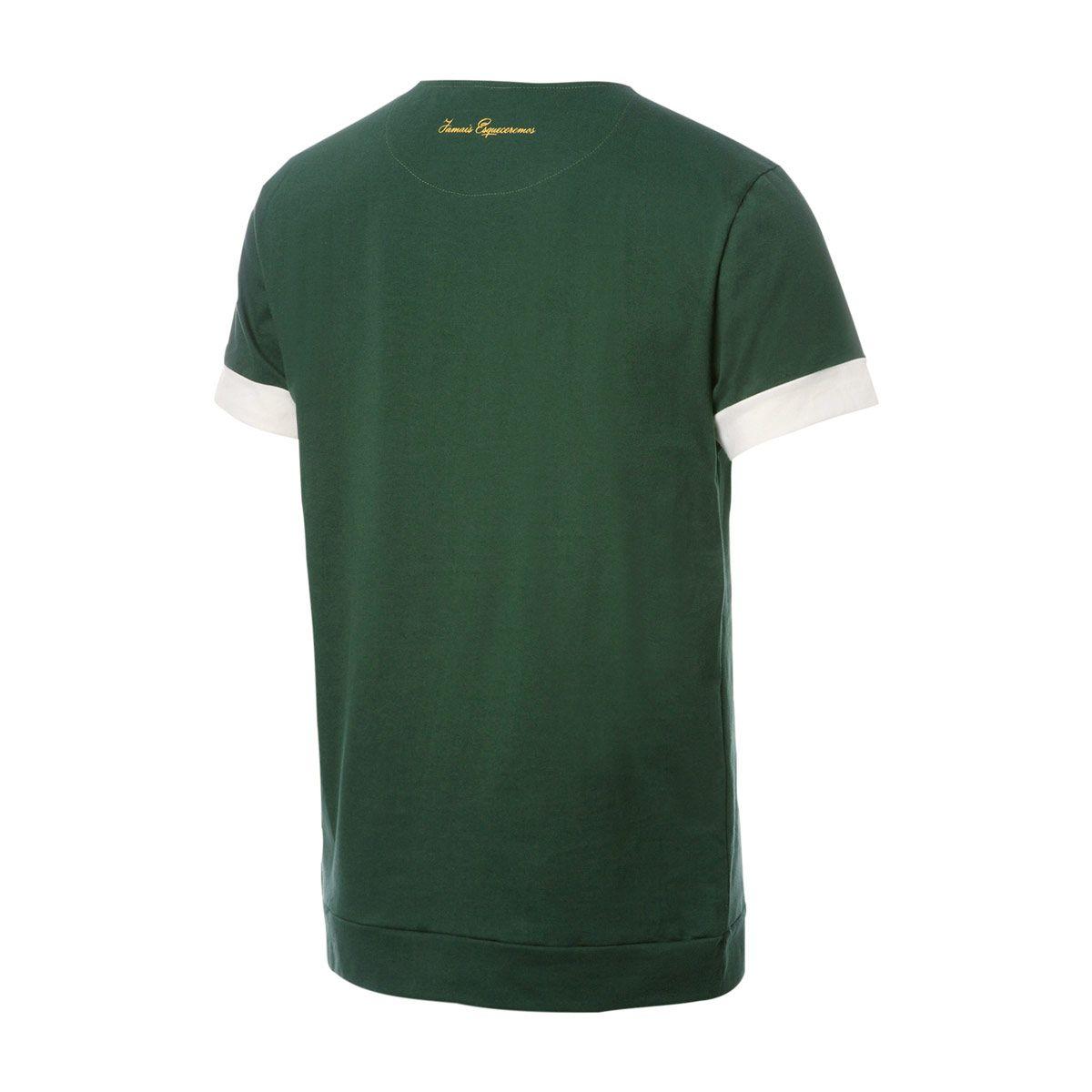 Camisa Solidária Retrô Gol Chapecoense Torcedor Musgo
