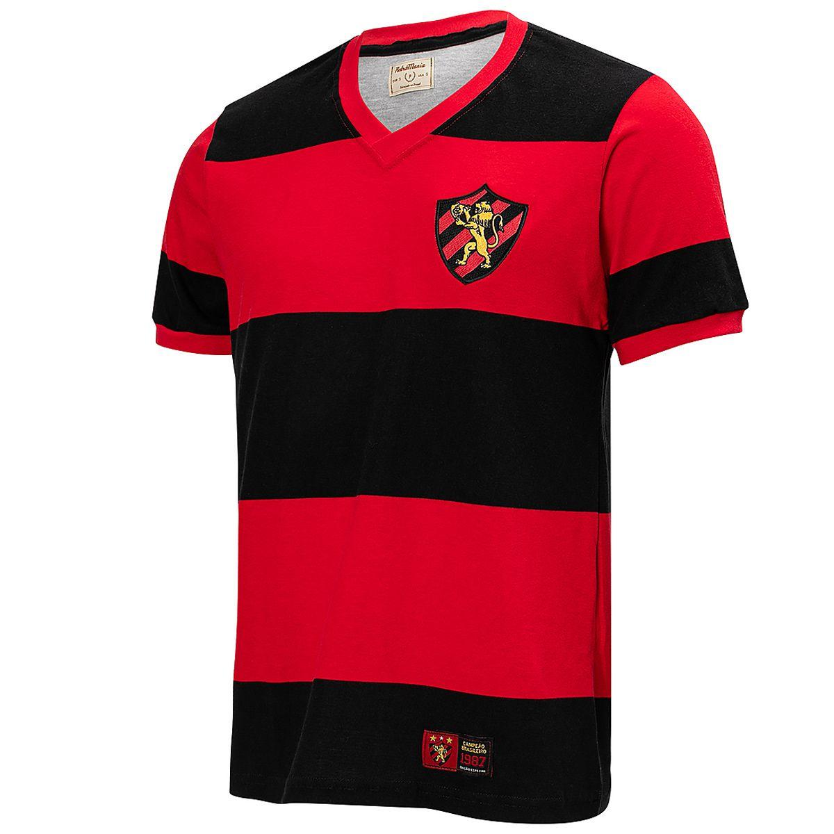 Camisa Sport Recife Retrô 1987 Masculina