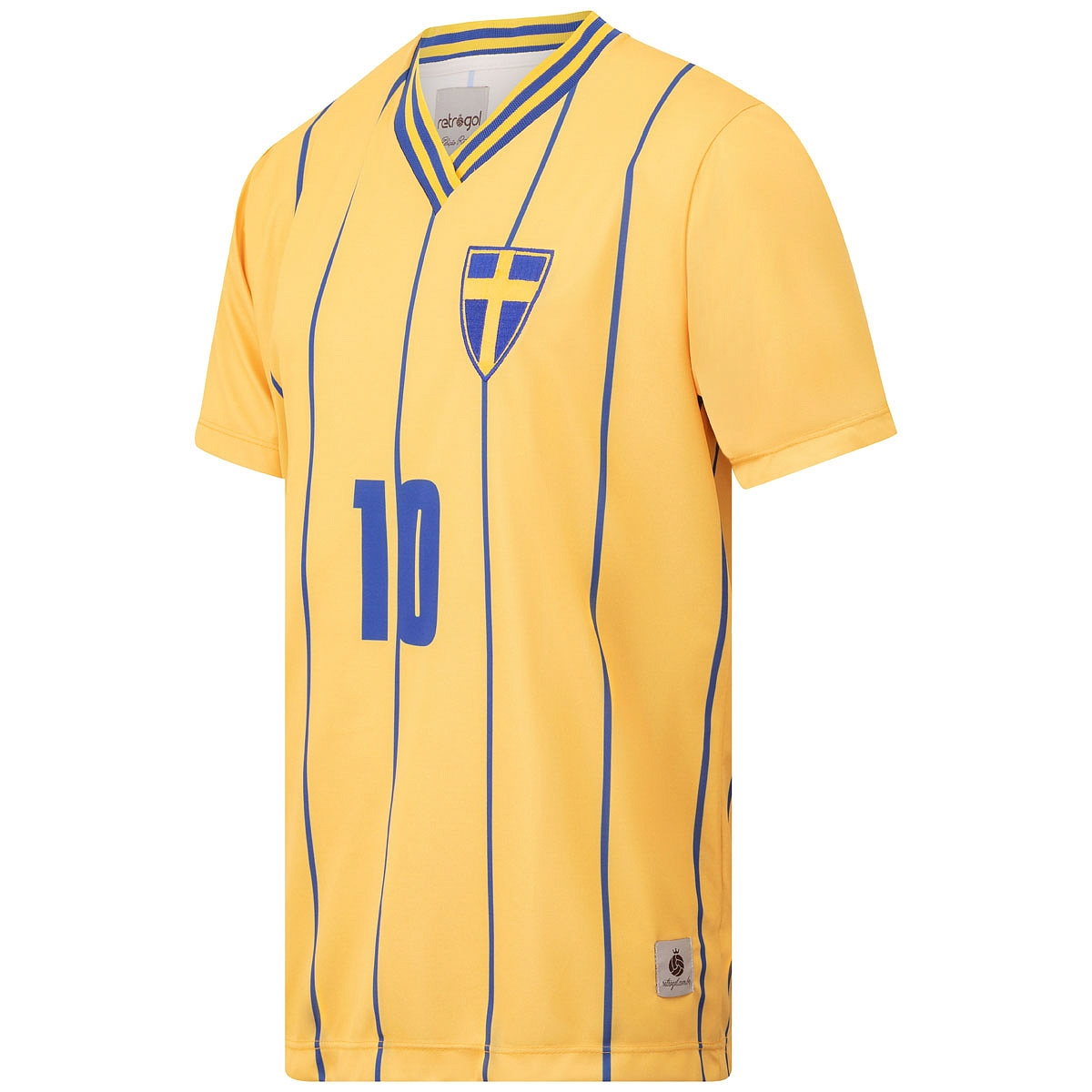 Camisa Suécia Retrô 2012 Masculina