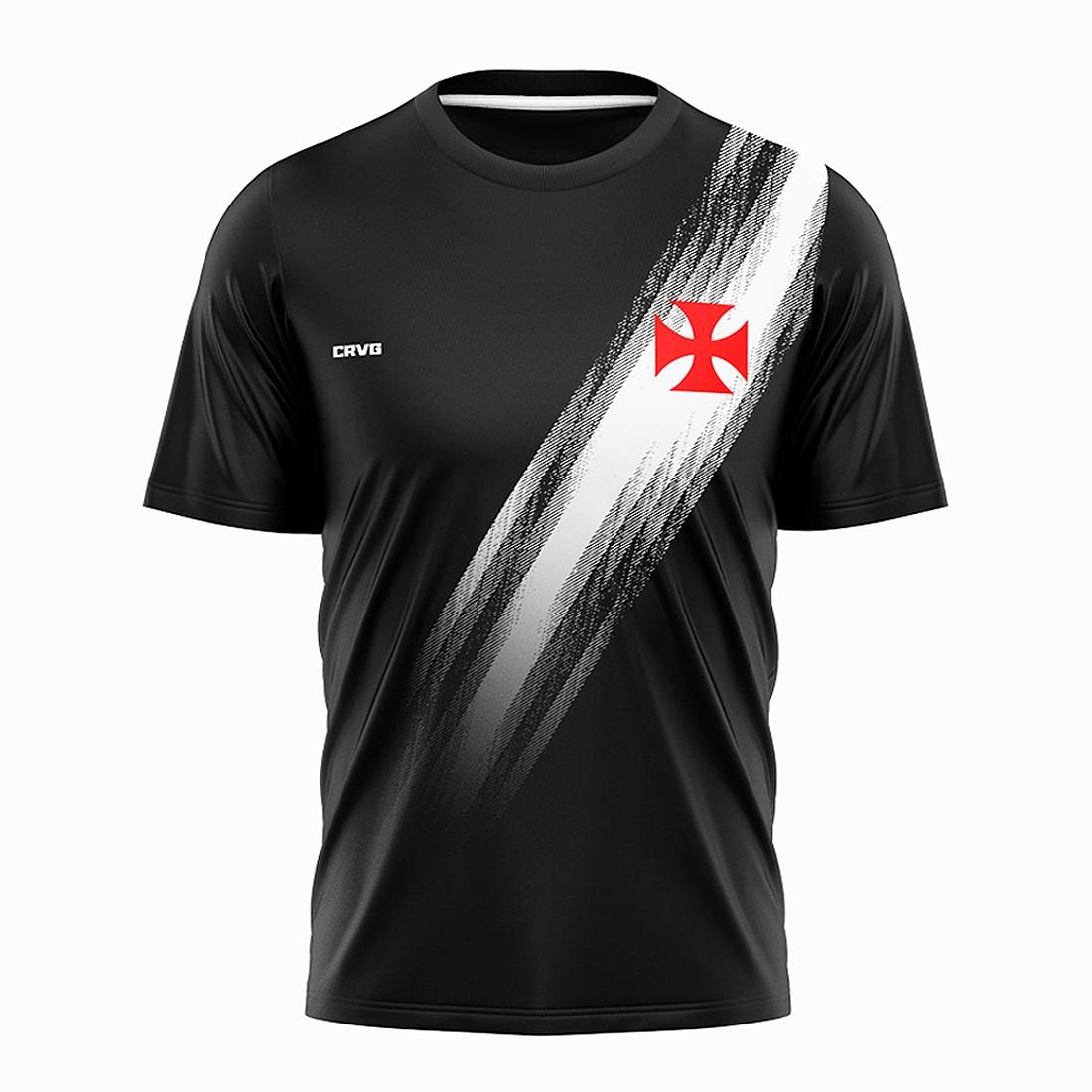 Camisa Vasco Retrô Faixa 1898