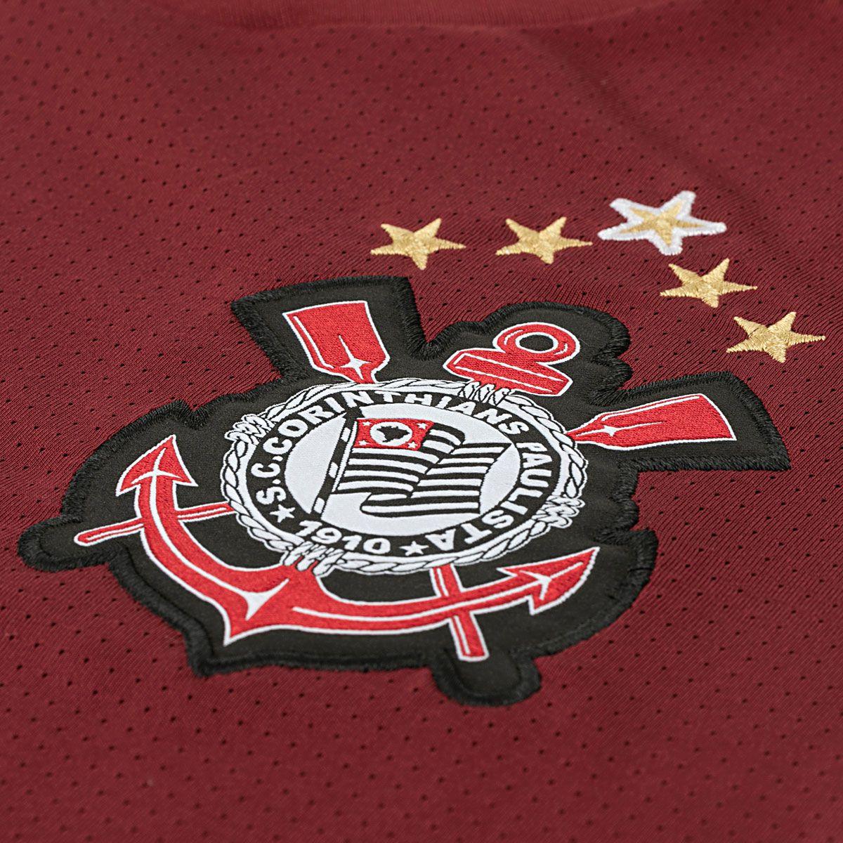 Camiseta Corinthians 2011 Grená Masculina