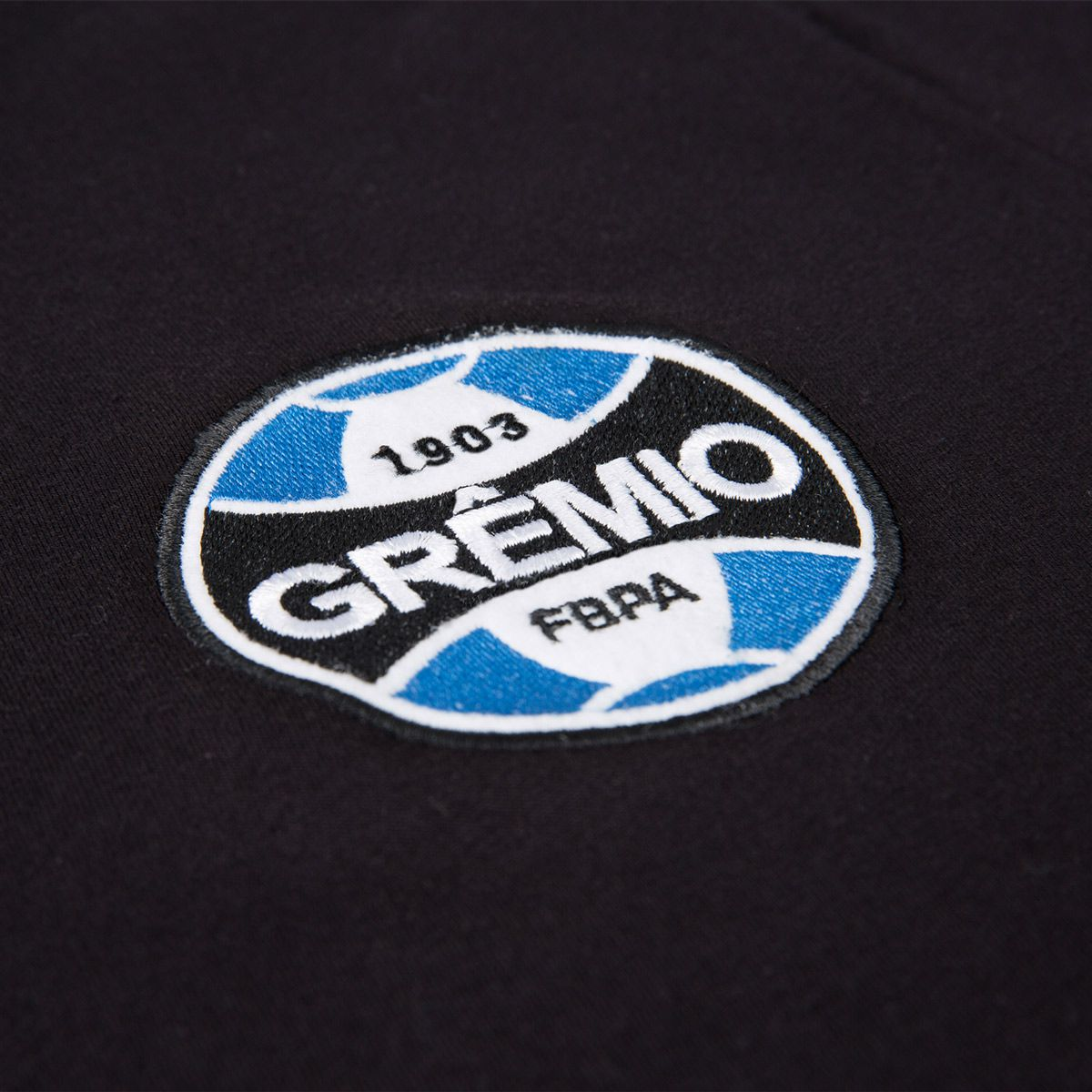 Camiseta Grêmio Retrô Preta Masculina
