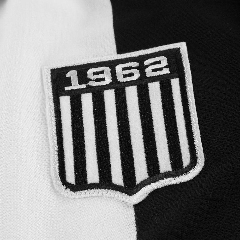 Camiseta Polo Retrôgol Alvinegro Praiano 1962