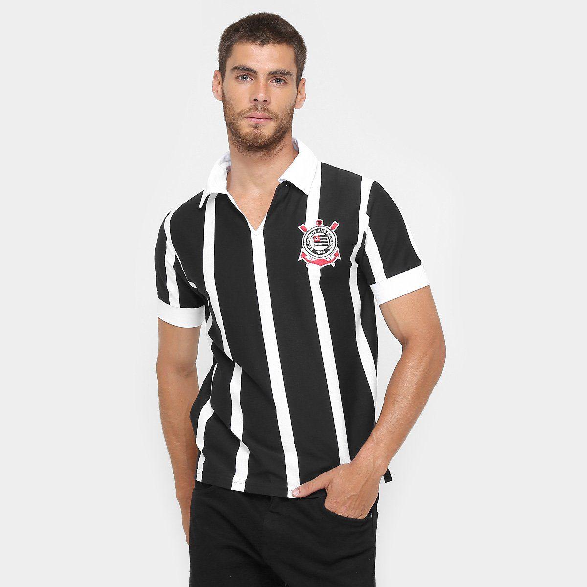 Camiseta Retrô Corinthians 1954 Masculina