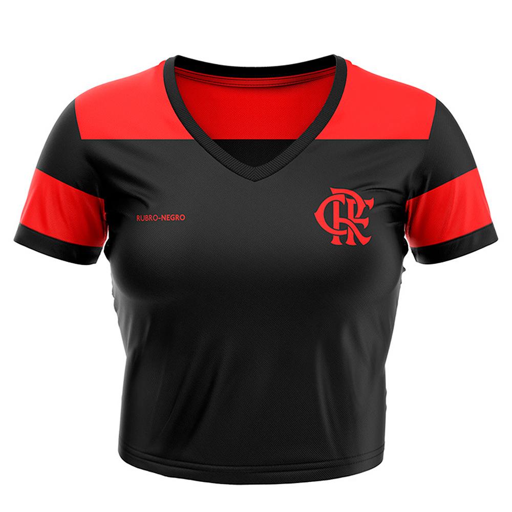Cropped Flamengo Mince Feminina