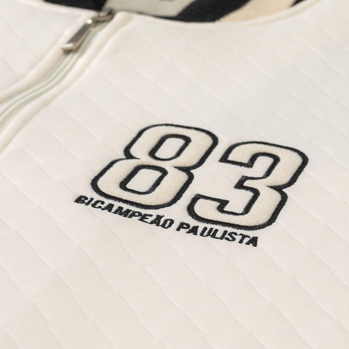 Jaqueta Corinthians Socrates Retrô Gol 83 Masculina