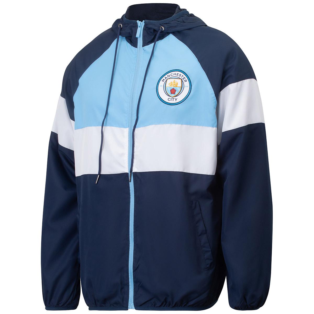 Jaqueta Manchester City Corta Vento Masculina