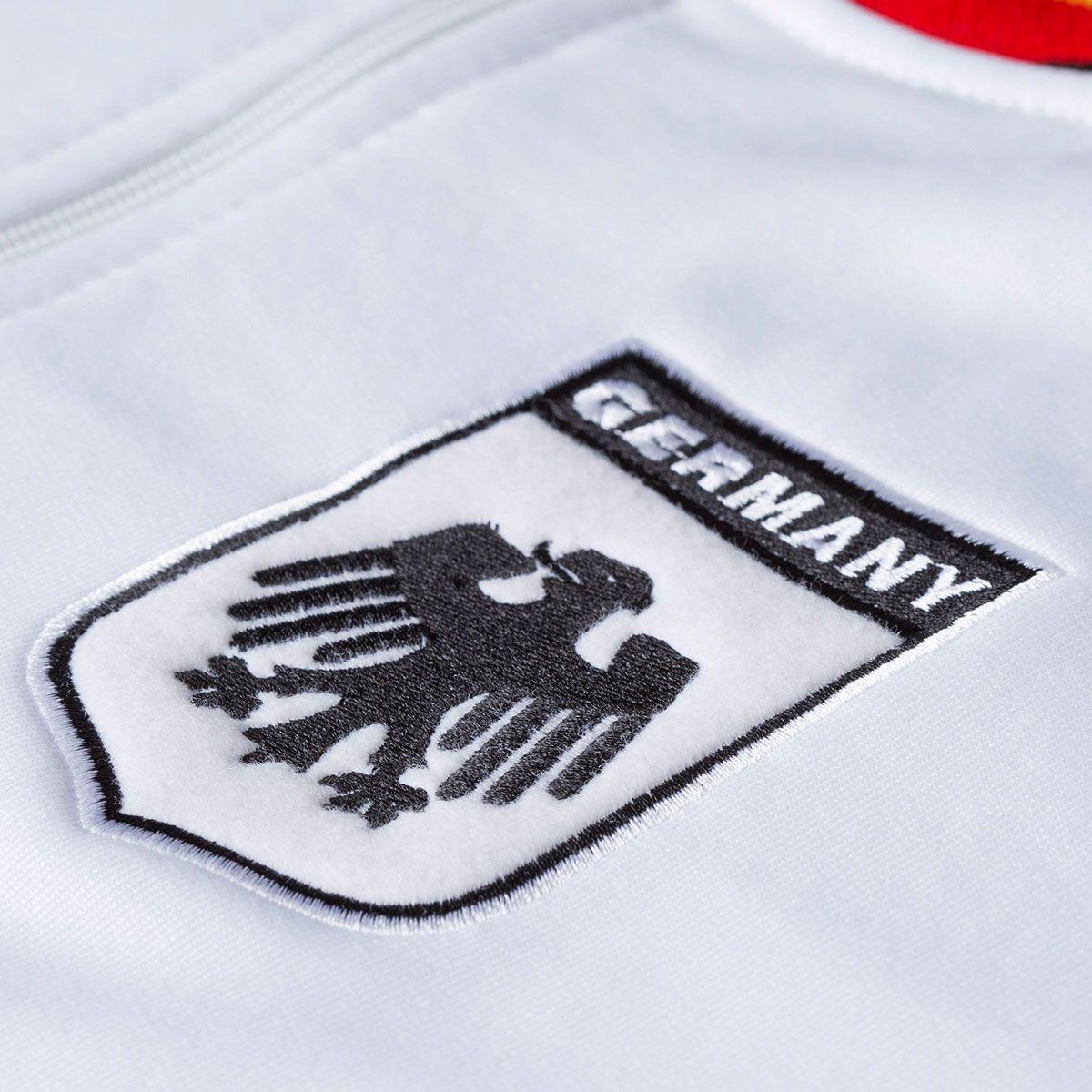 Jaqueta Moletom Retrô Gol Seleção Alemanha Torcedor